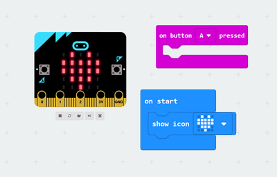Code MicroBit with Makecode